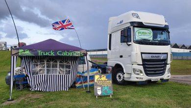 Photo of Colwick haulage firm send truck on tour for charity