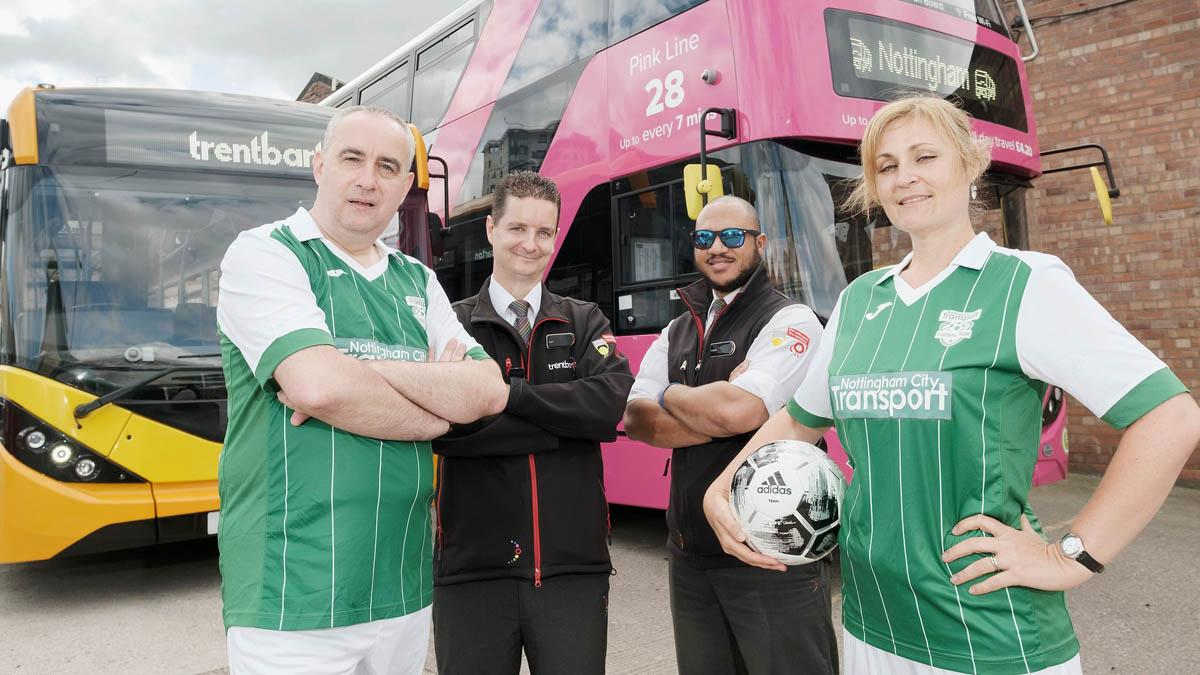 Wheels are in motion for bus drivers' charity match in Gedling this Sunday