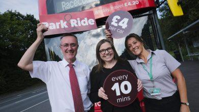 Photo of Gedling Red 44 bus to boost Colwick park and ride service from Monday