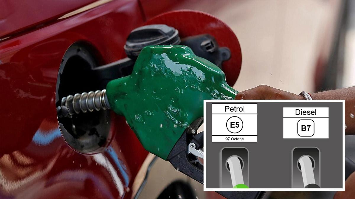 The E5, B7, E10 petrol and diesel labels appearing on pumps in Gedling borough – here's what they mean