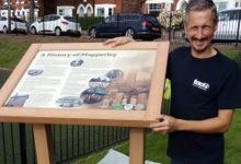Photo of New local history board unveiled at Haywood Road Green in Mapperley