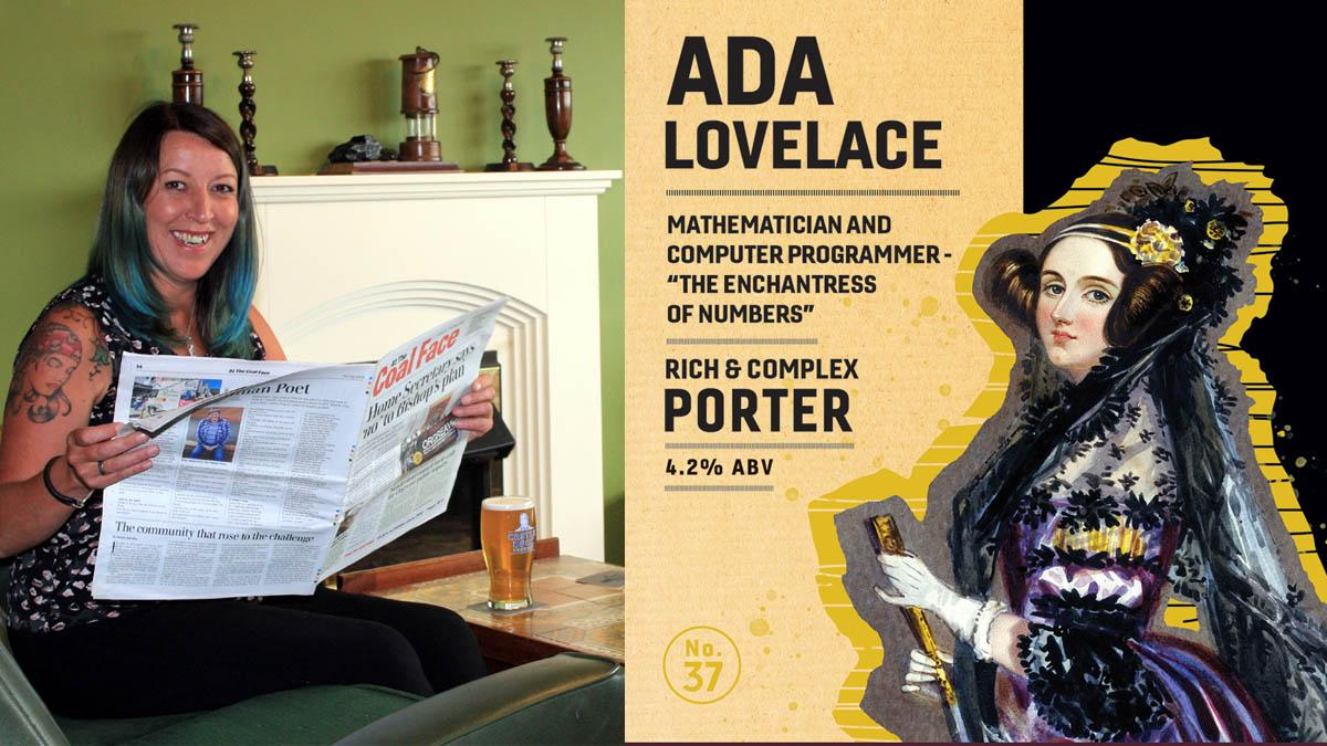How many did I have?: New beer being brewed in honour of Lord Byron's mathematician daughter Ada Lovelace to launch at Newstead pub