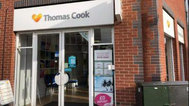 Photo of Thomas Cook stores in Arnold and Mapperley bought by rival