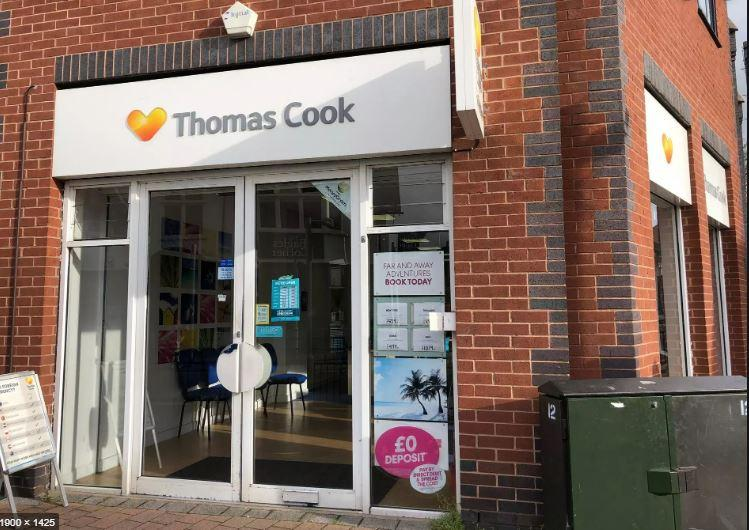Thomas Cook stores in Arnold and Mapperley bought by rival