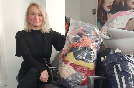 KH Hair in Arnold gets into festive spirit by helping homeless