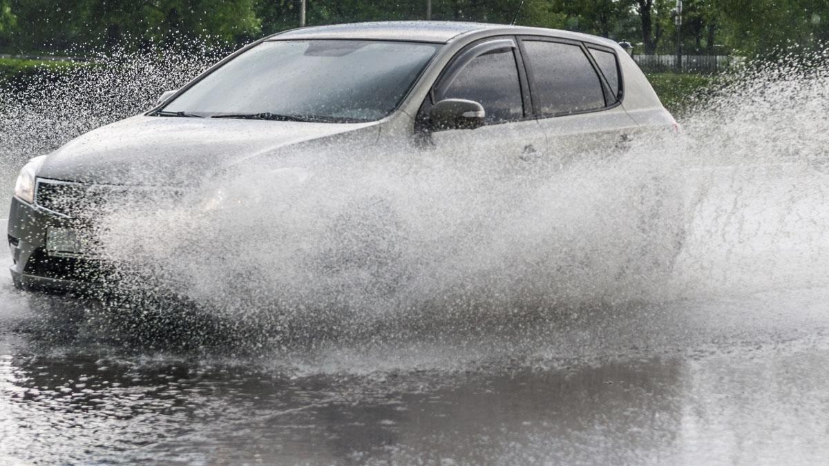 Flood water warning from police to drivers in Gedling borough