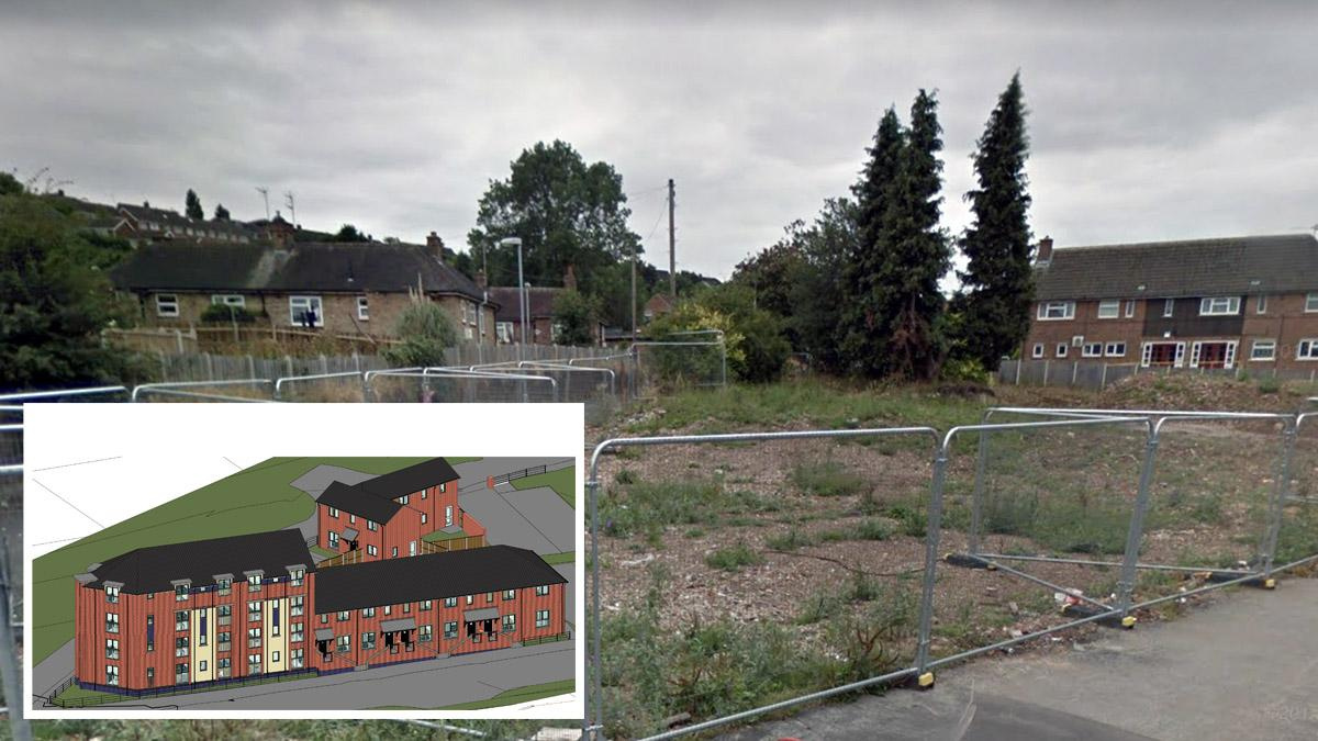 Picture of former Earl of Chesterfield site on Carlton Hill