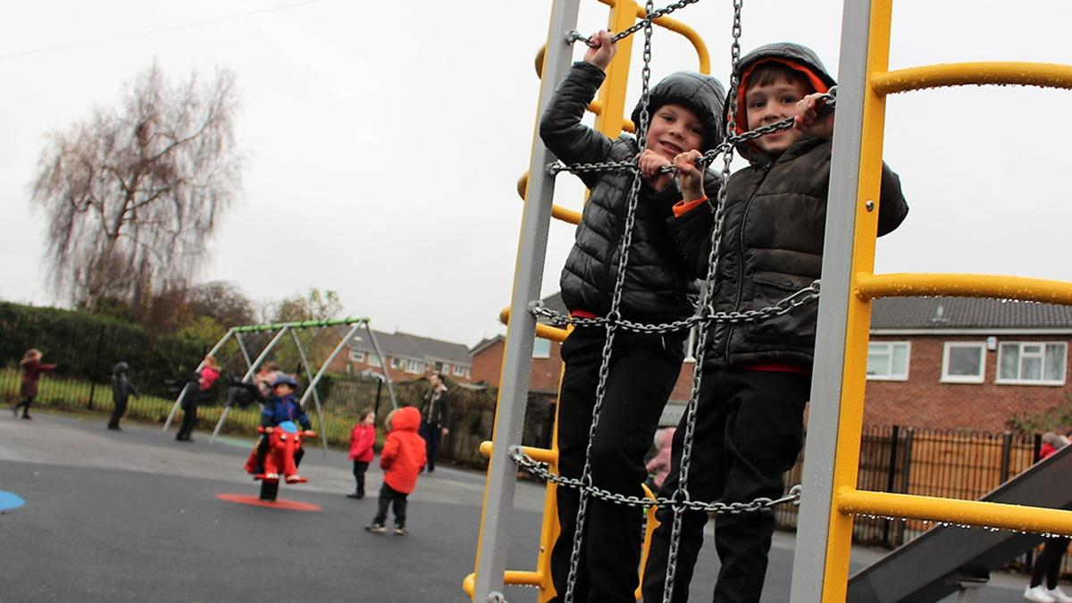 Kids on Foxhill park