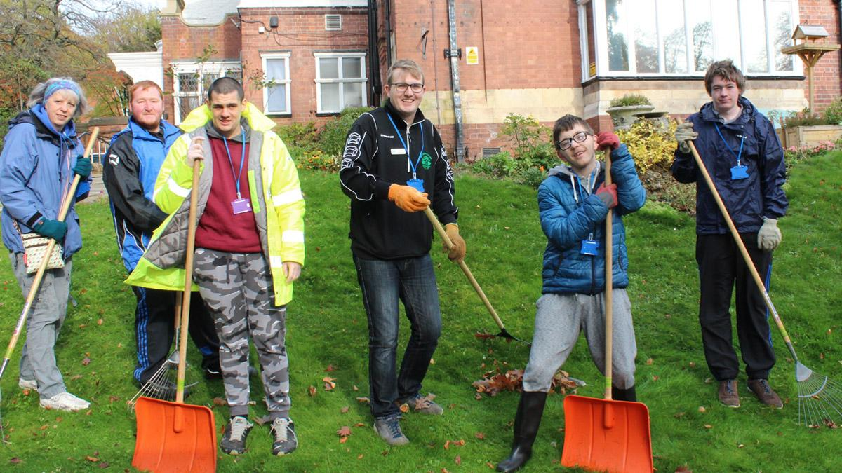 Nottinghamshire Hospice in Mapperley helps prepare young adults with autism for the workplace