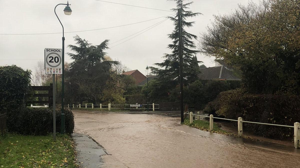 Flooding hits the borough
