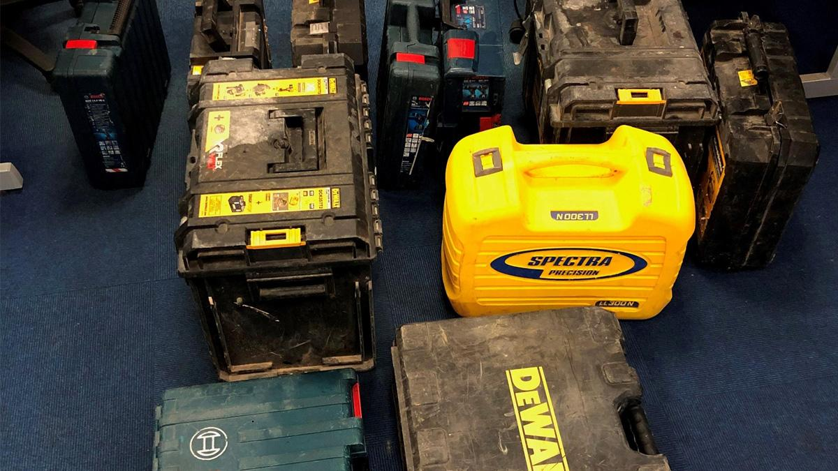 Police appeal after discovery of empty toolboxes in Burton Joyce
