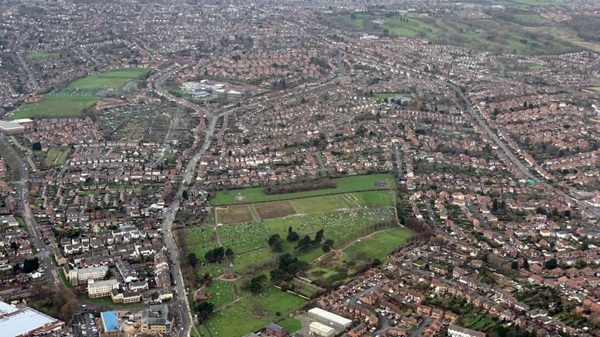 Breathtaking aerial photos show life from above across Gedling borough in 2019