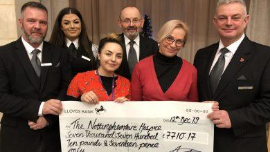 Photo of Gedling Crematorium raises over £7000 for Nottinghamshire Hospice in Mapperley