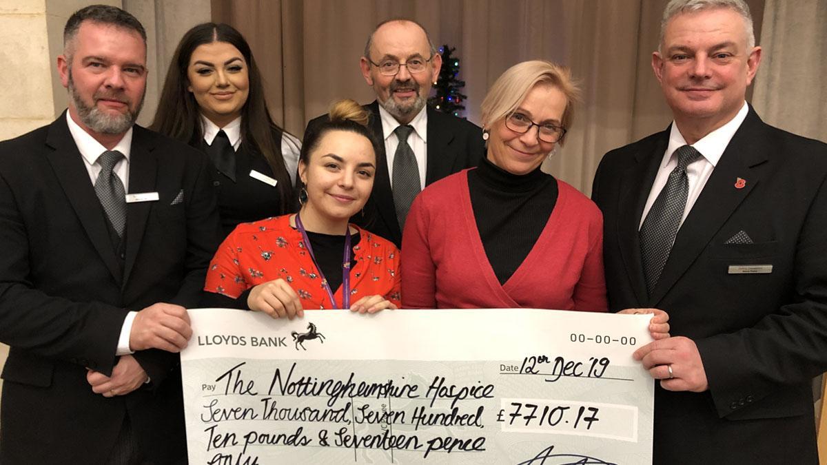Gedling Crematorium raises over £7000 for Nottinghamshire Hospice in Mapperley