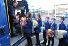 Photo of Carlton Le Willows Academy pupils spread Christmas cheer with festive foodbank appeal