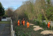 Photo of Full steam ahead as work begins on clearing old train line which could soon be transformed into exciting new heritage trail in Gedling