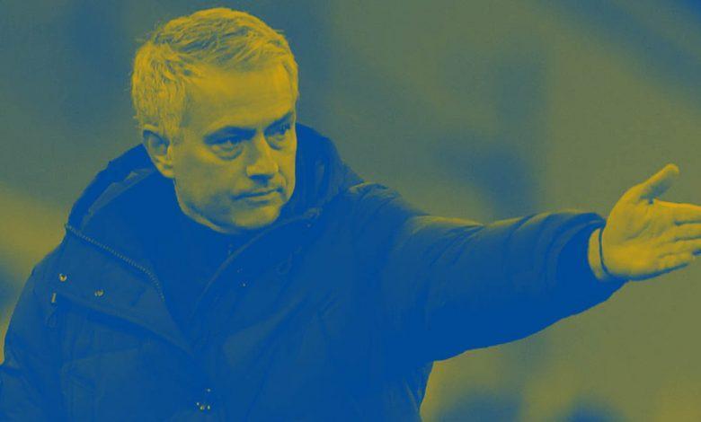 Gradient image of Jose Mourinho