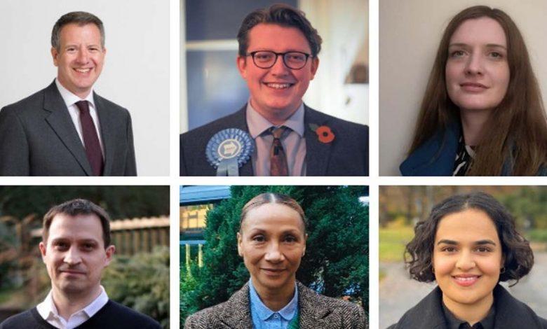 Nottingham est candidates