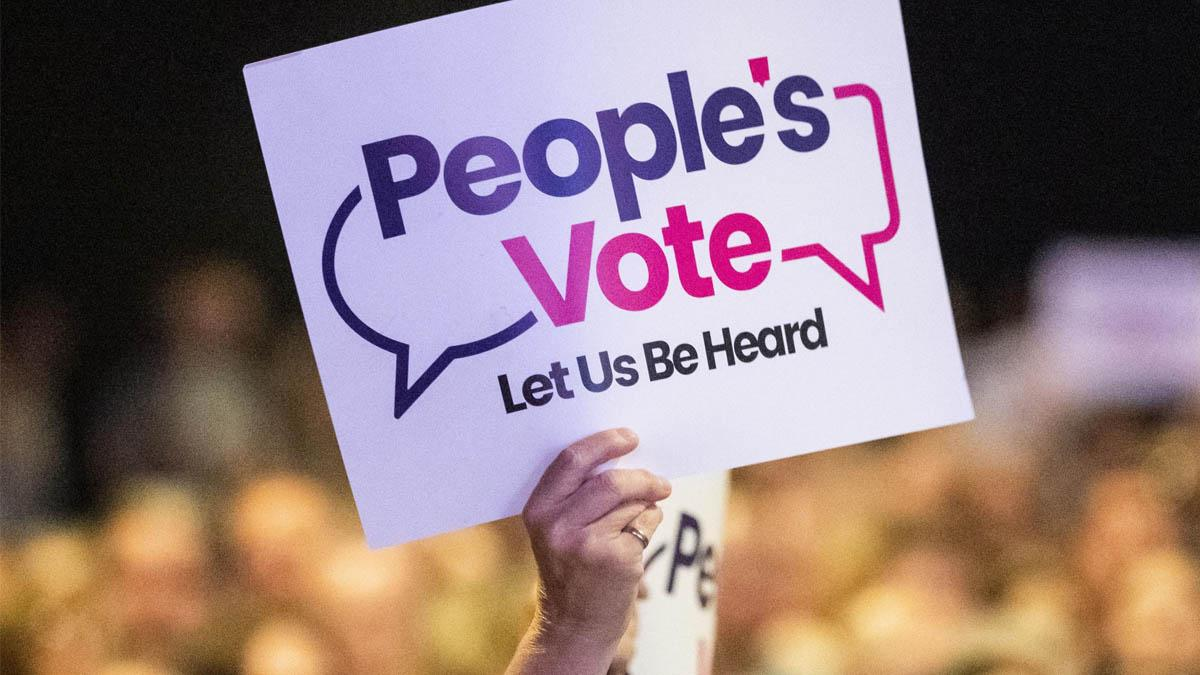 People's Vote campaigners will be 'out in force' in Gedling on Saturday urging voters to back Labour's Vernon Coaker and secure a second referendum