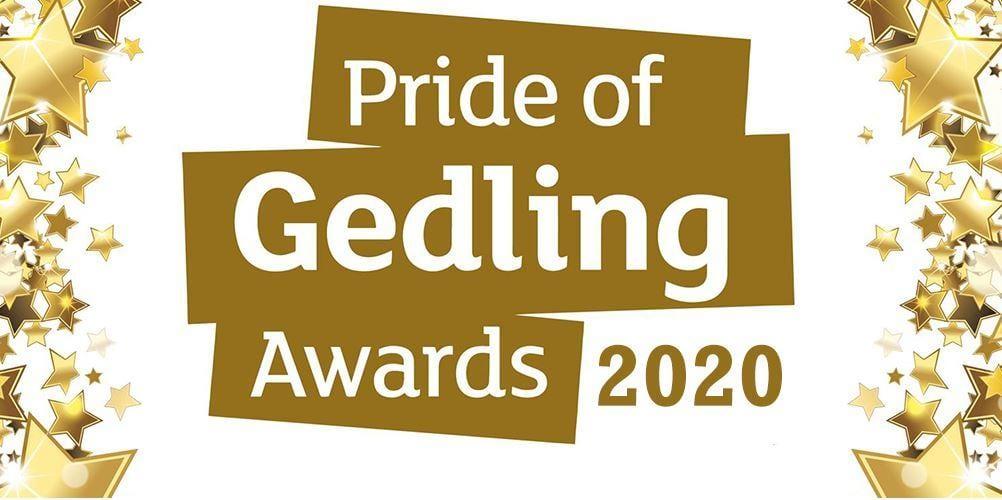 Pride of Gedling 2020 logo