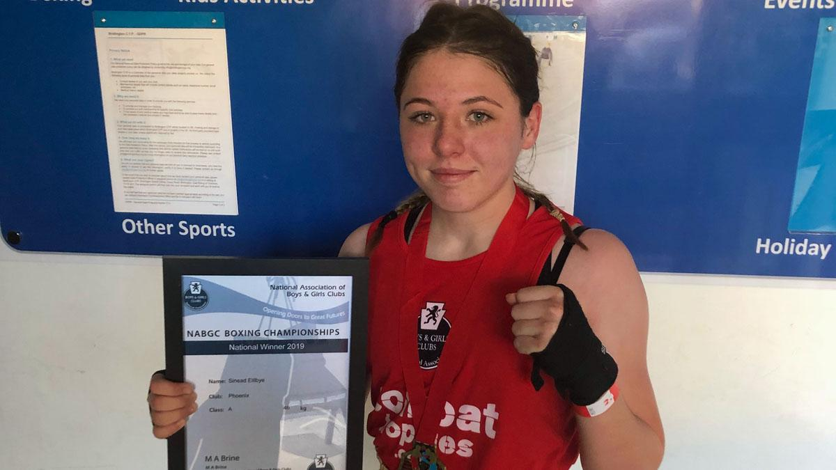 Sinead secures third title to make her top female amateur boxer in Notts