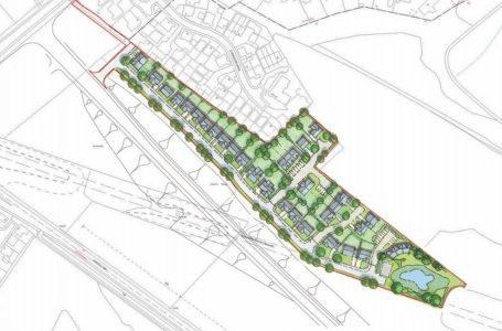 PICTURED: Plans for extra homes on the Chase Farm estate in Gedling