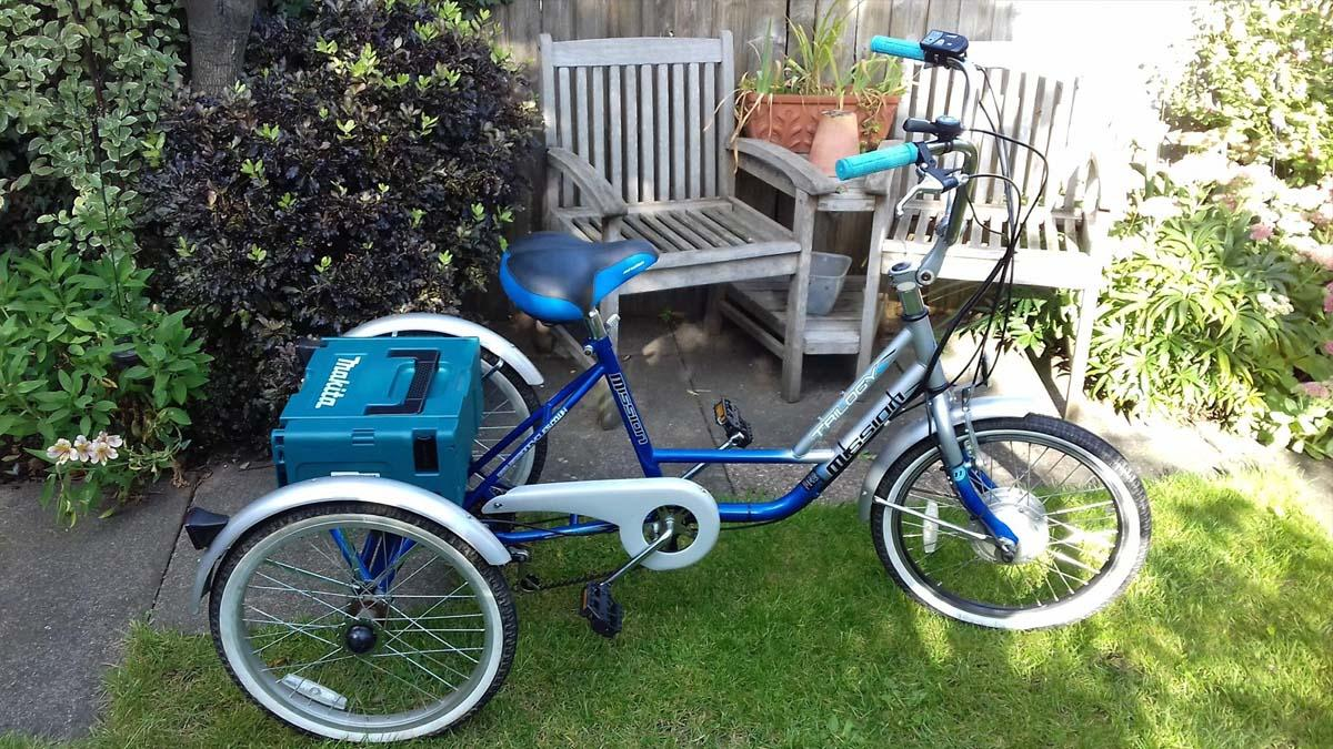 Electric tricycle was stolen from Netherfield