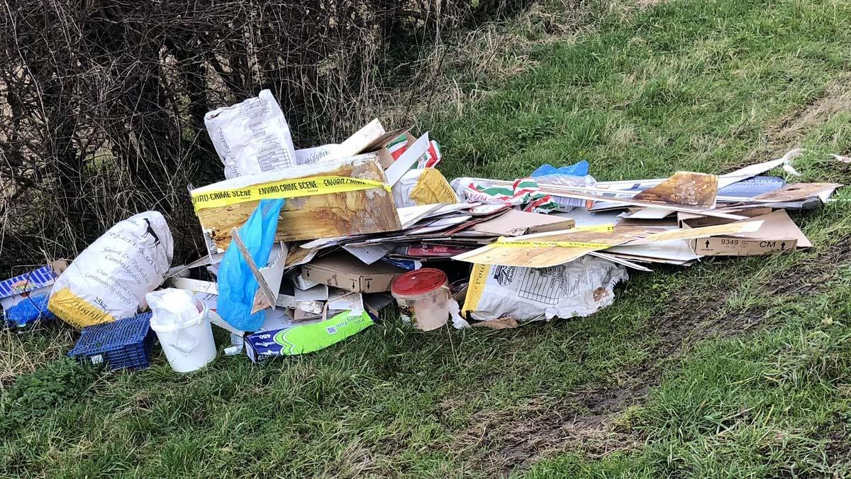 'More action is needed': Trent Valley councillors slam fly-tippers after hotspot in Stoke Bardolph is targeted again