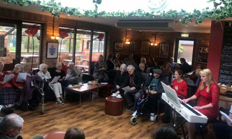 Heron Cafe session