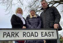 Photo of MP joins campaign to get Calverton road resurfaced