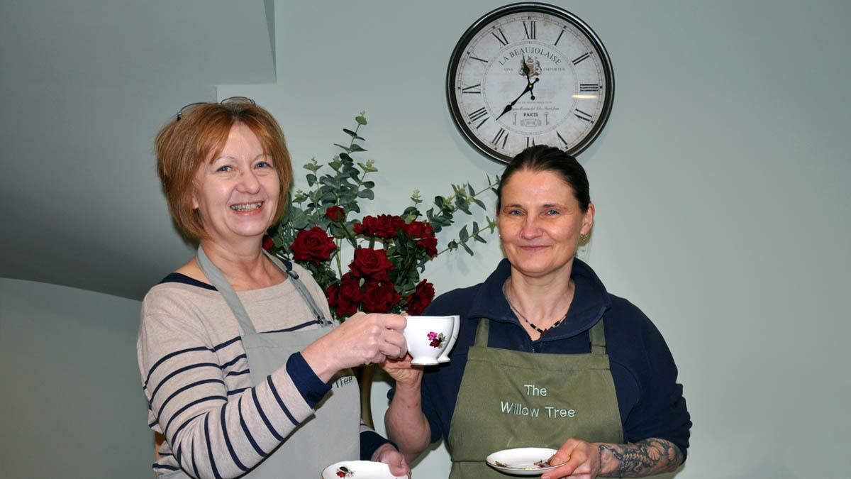 Former teachers will take you back in time with new vintage tea room in Burton Joyce