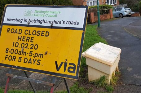Road in Carlton to be resurfaced after driving Gedling Eye reader potty