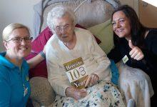 Photo of Ann celebrates remarkable 103rd birthday in style at Carlton residential home