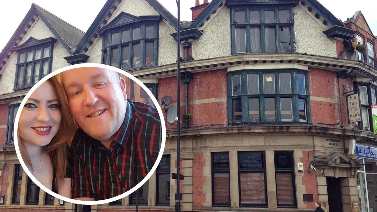 Pub couple raise a glass after 21 years running It's Inn The Bank in Netherfield