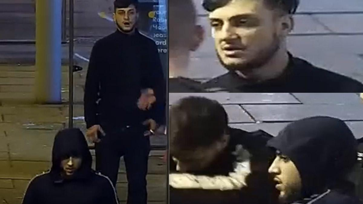 Police want to speak to these two men after jewellery theft in Carlton