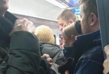 Photo of Angry passengers say they are 'packed like sardines' on daily train to borough stations