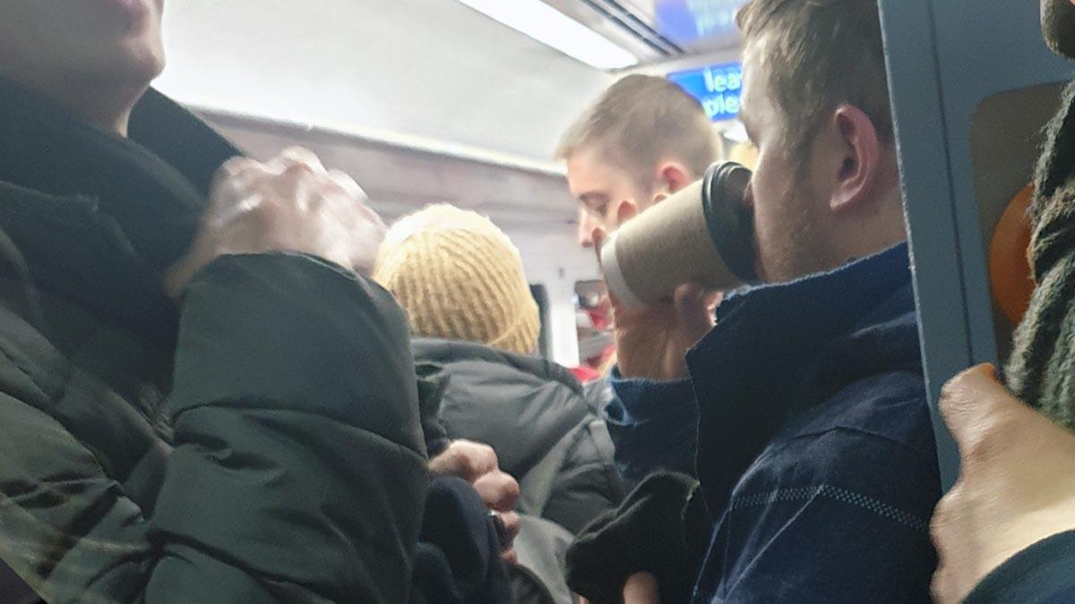 Angry passengers say they are 'packed like sardines' on daily train to borough stations