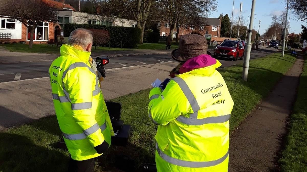Police and community team up to tackle speeding in Burton Joyce