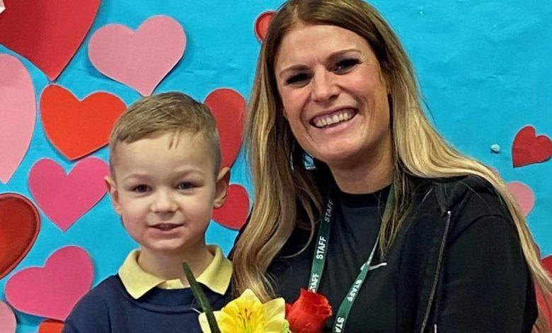 Valentine's at Pinewood School in Arnold
