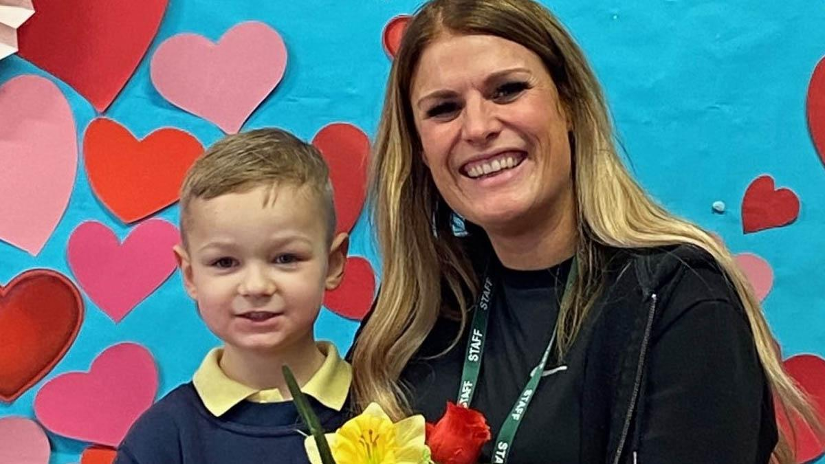 Pupils get chance to dine with 'very special someone' during Valentine's meal at Arnold school