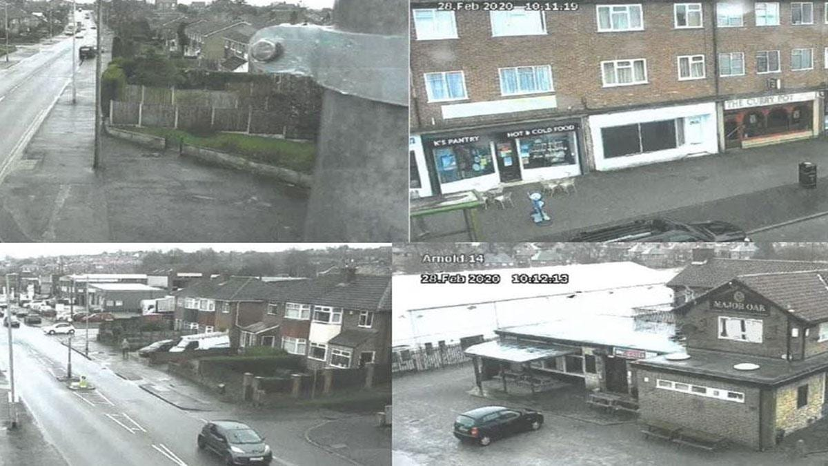 New CCTV camera goes live in Arnold and will help tackle anti-social behaviour problems in the area