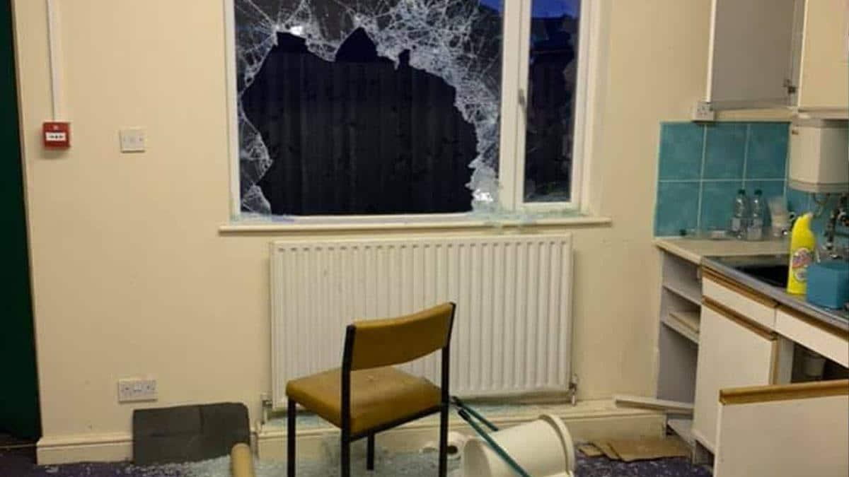 Damage to Gedling Youth Club