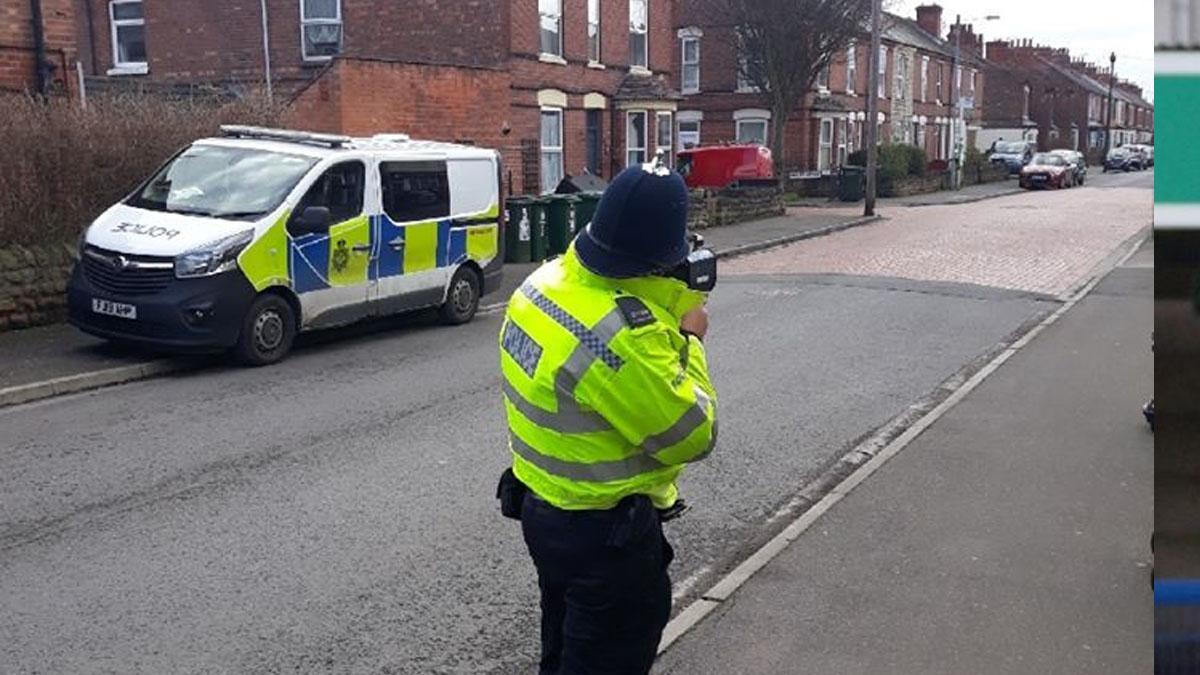 Police target speeding motorists near primary school in Netherfield