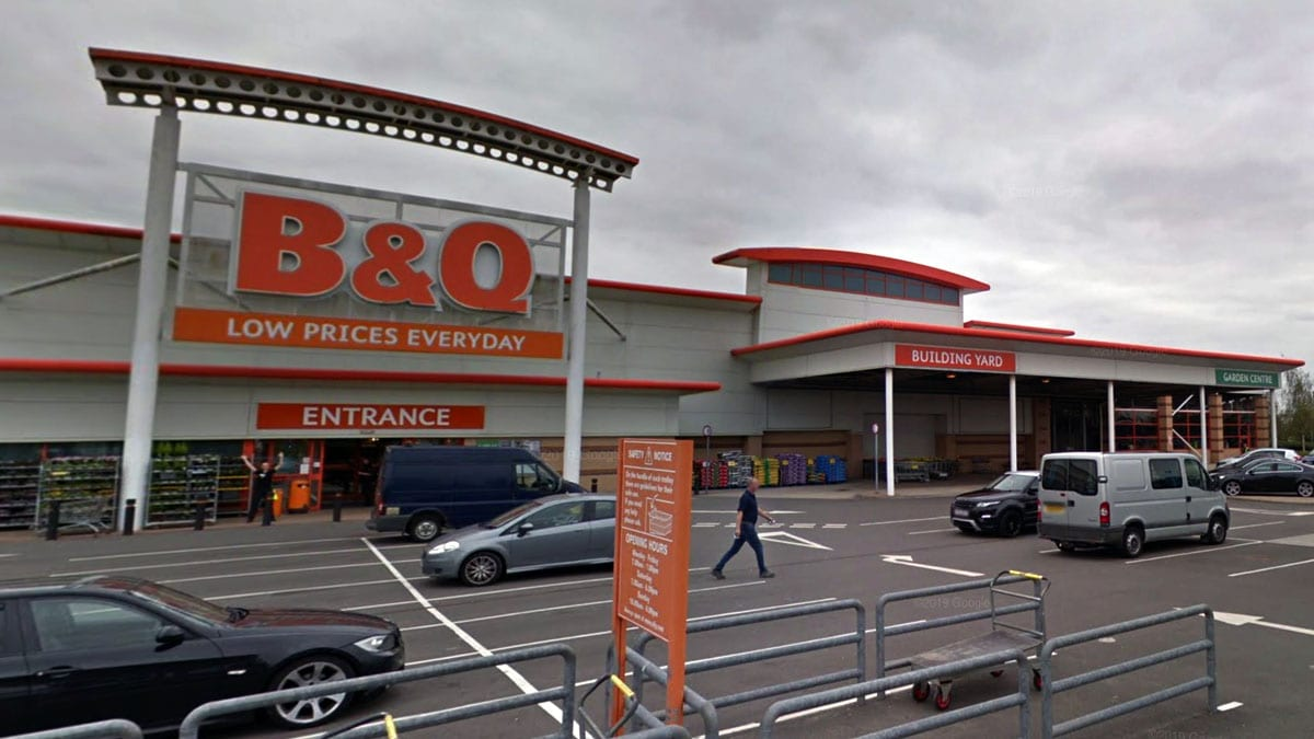 B&Q store at Netherfield retail park reopens