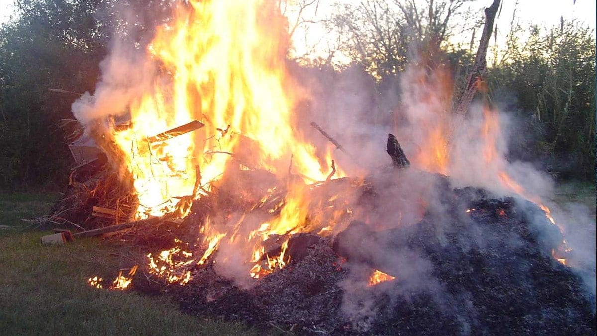 Borough residents asked to stop bonfires as rise in complaints sparks plea from council