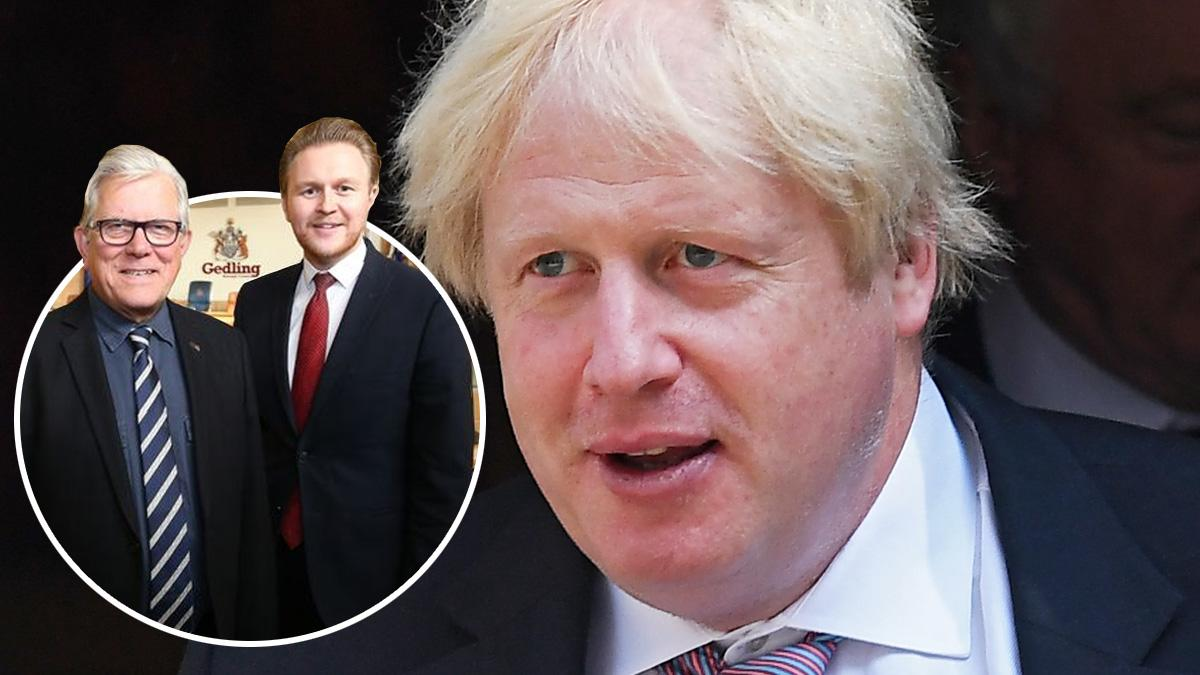 Gedling borough councillors wish Prime Minister Boris Johnson a 'speedy recovery' as he is treated in hospital for COVID-19