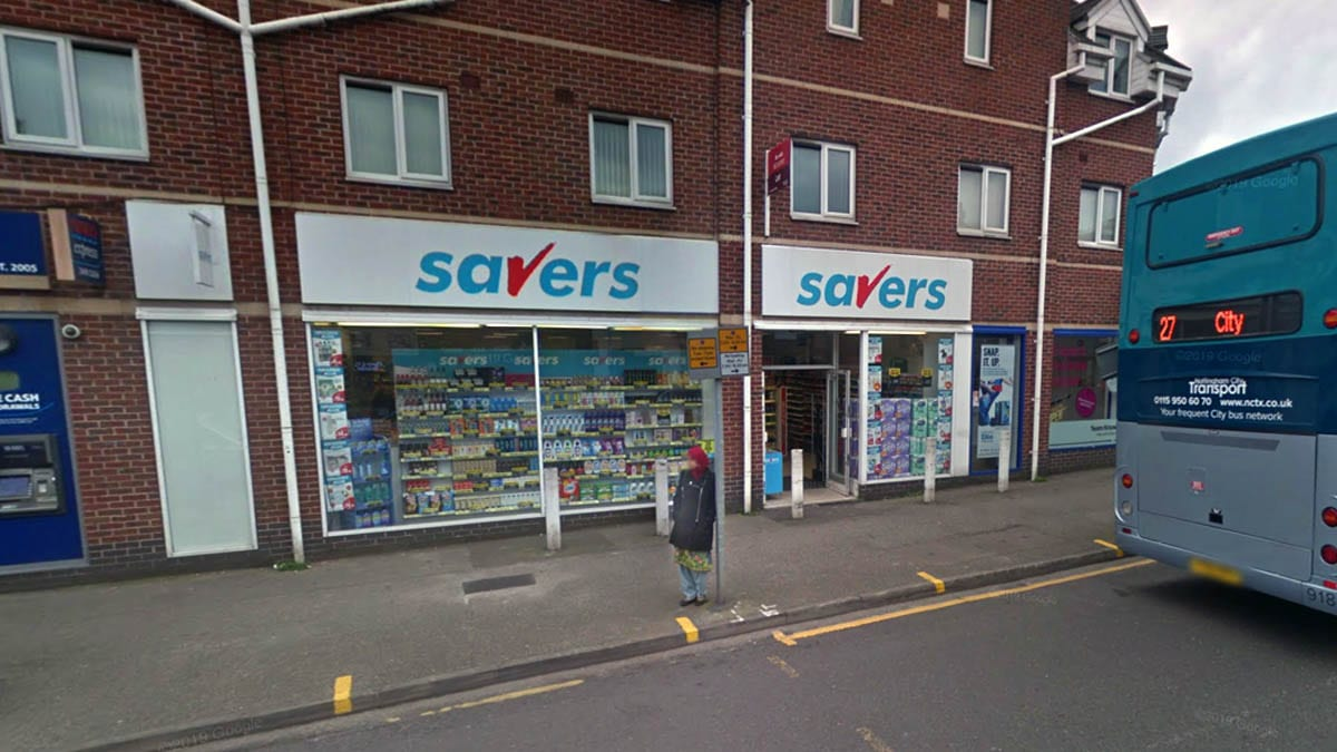 Savers in Carlton Hill