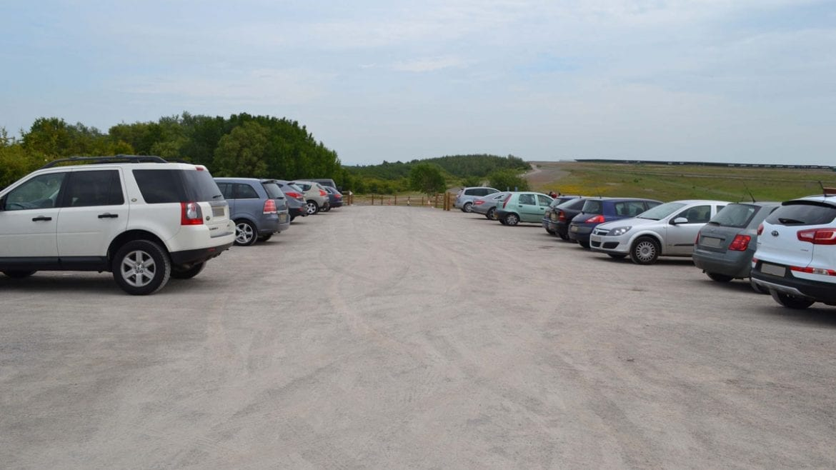 Car park at Gedling Country Park