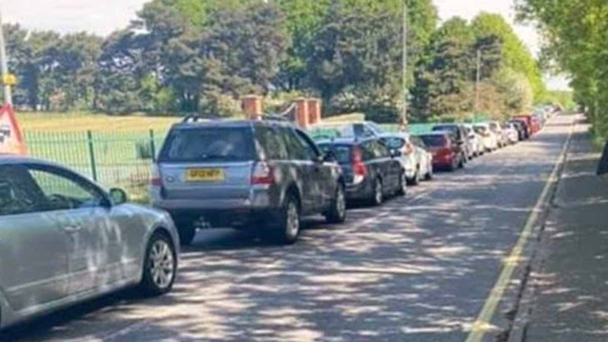 People reminded 'only essential visits should be made' as queues form at recycling centre in Calverton