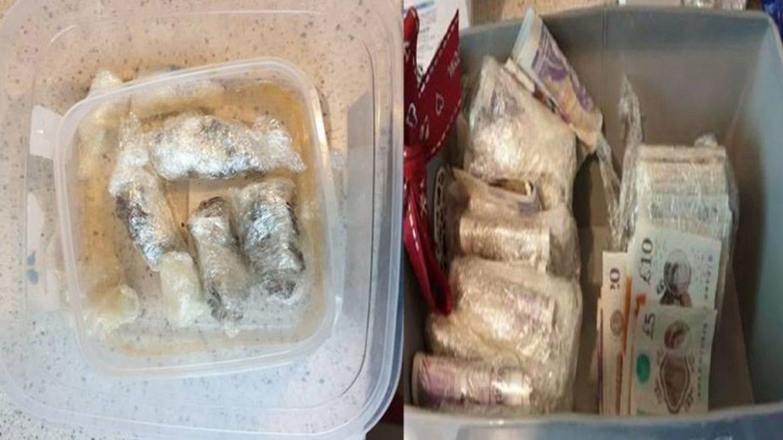 Drugs seized in Mapperley